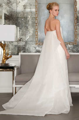 Romona Keveza Dress Detachable Obi Train Bridal Spring