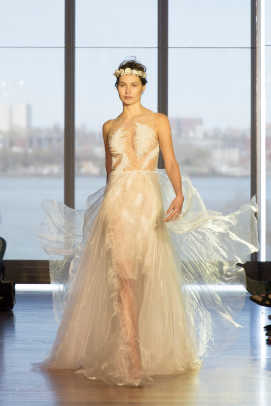 Yellow wedding dress designs