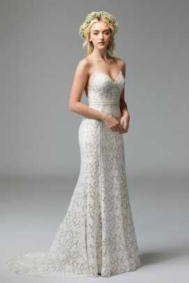 Willowby Brides Lace Crochet Slip Dress