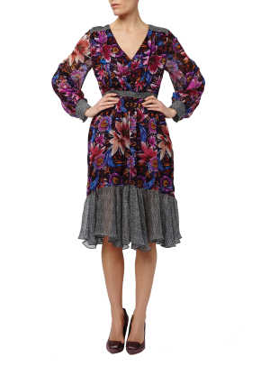 Jardin Shirt Dress on Model.jpg