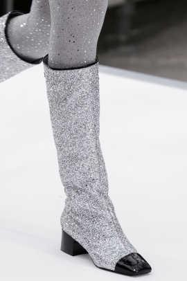 chanel glitter boots. chanel%20clp%20rf17%203516 chanel glitter boots l