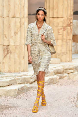 Chanel built an ancient grecian temple for its very literal cruise