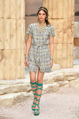 Chanel Built an Ancient Grecian Temple for Its Very ...