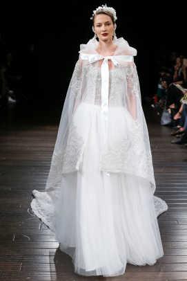 Sweater Wedding Dress 39 Cute  naeem khan cape