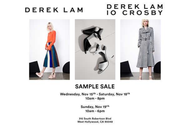 Derek Lam Sample Sale - Public Admission