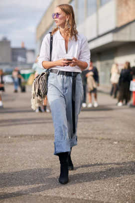 How To Wear A Long Belt Like A Street Style Pro Fashionista