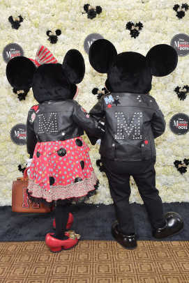 Minnie Mouse & Mickey Mouse in custom Coach 2_ credit Stefanie Keenan