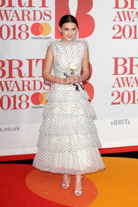 millie bobby brown brit awards 2018