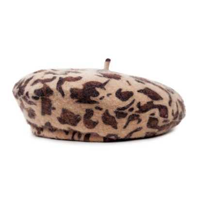 leopard-beret