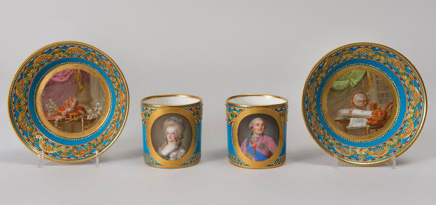 Cup and Saucer with Portrait of Marie Antoinette_300dpi