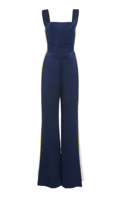 alexis luisana side stripe jumpsuit