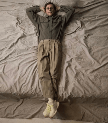 cheaper 578e1 8b5e9 The New Yeezy Campaign Involves Wearing Sneakers on the Bed ...