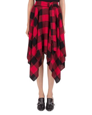 the-kooples-plaid-handkerchief-hem-skirt