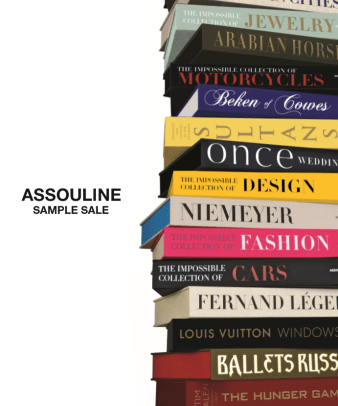 Assouline Sample Sale
