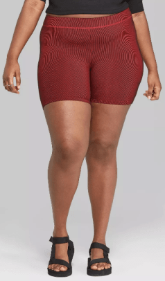 wild-fable-plus-size-striped-high-rise-ribbed-bike-shorts