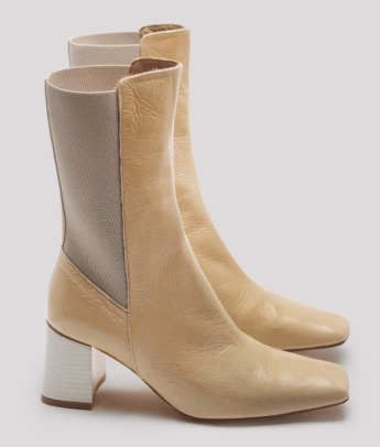 miista square toe boot