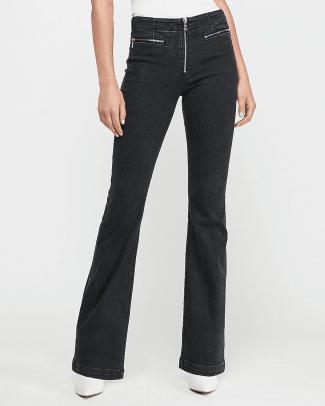 express-high-waisted-denim-perfect-zip-fly-bootcut-jeans