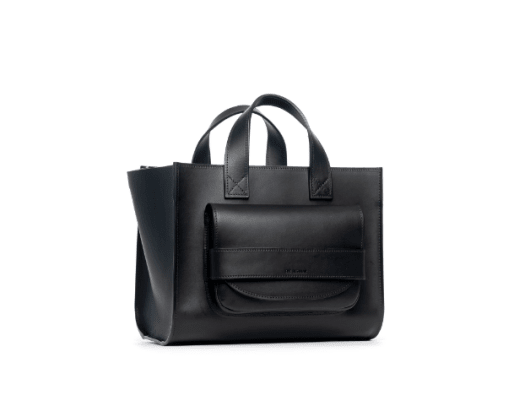 the regular medium black tote