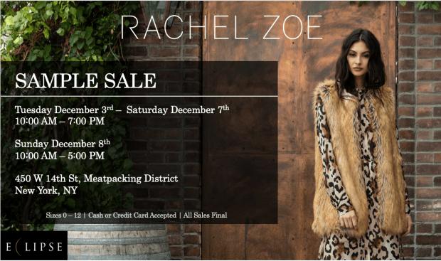 RZ - ECLIPSE Sample sale