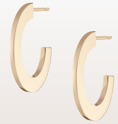 aurate gold hoops