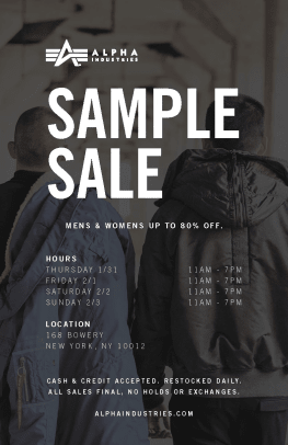 alpha-industries-sample-sale