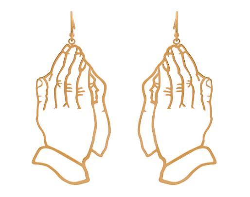 simona-rocha-praying-hands-earring