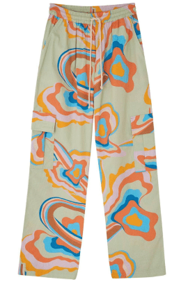 lucy and yak colorful cargo pants