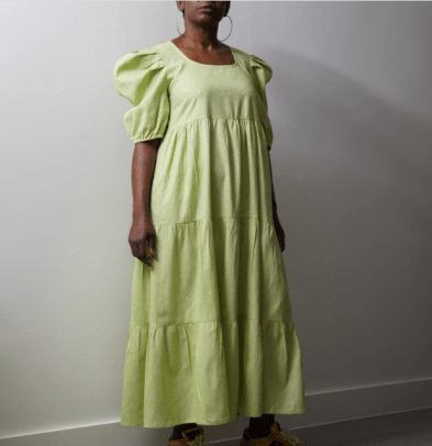 Kemi Telford Tayo Green Dress