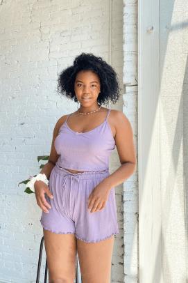 Lisa Says Gah Harper Set in Lavender