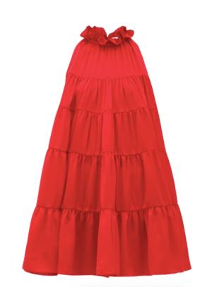 Rhode Red Tiered Dress MatchesFashion