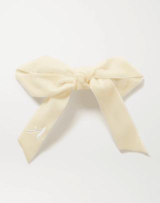 lelet velvet hair clip