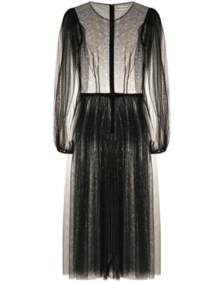 Molly Goddard Tulle Midi Dress Farfetch