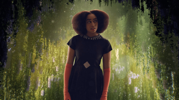 Celeste in Guccigreen carpet fashion awards 2020-green carpet fashion awards 2020