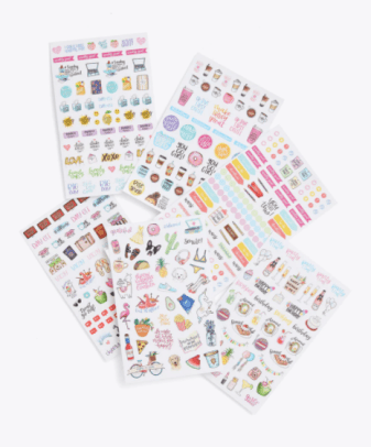 Bloom CLASSIC PLANNER STICKERS Bando