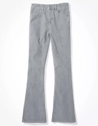 AE Super High-Waisted Corduroy Flare Pant
