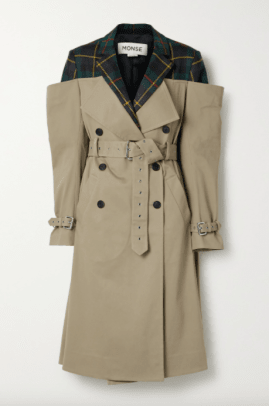 monse deconstructed trench