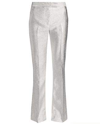 3.1 Phillip Lim Metallic Lame Slim-Leg Trousers Saks Fifth Avenue