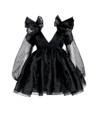Selkie The Polka Dot Sugarfrill Dress