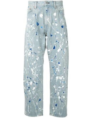 junya watanabe painted jeans