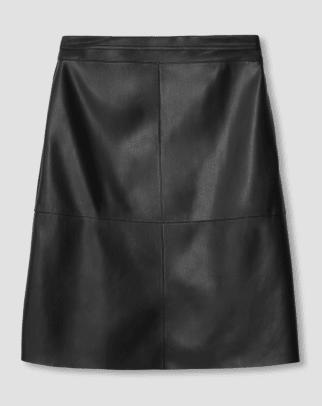 Universal Standard Taylor Vegan Leather Skirt