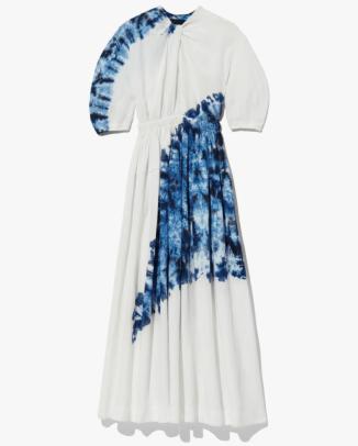 Proenza Schouler Tie Dye Linen Viscose Dress