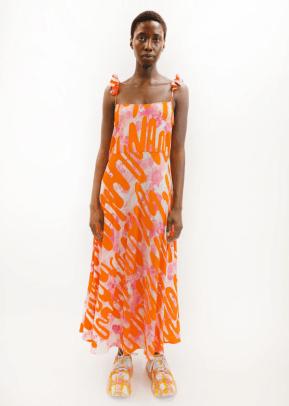 Collina Strada Ruffle Market Dress