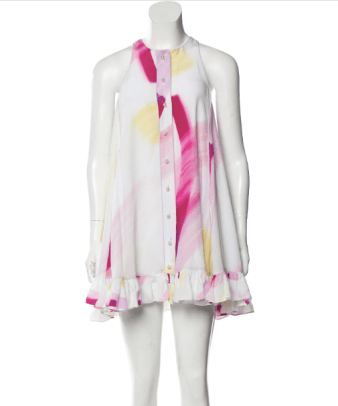 adam selman spring 2015 dress