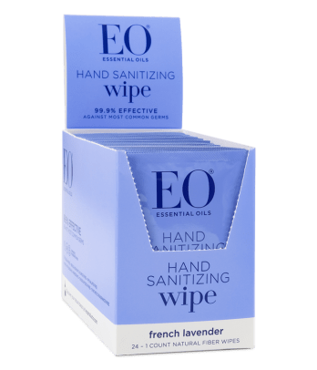 eo hand sanitizing wipe