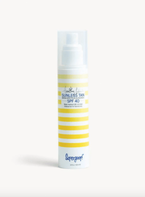 supergoop healthy glow sunless tan