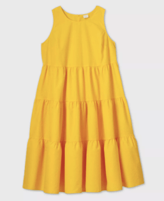 A New Day Yellow Dress Target