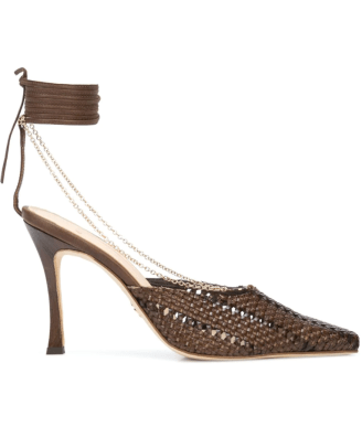 Brother Vellies Olivia 100mm pumps Farfetch