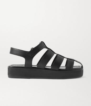Porte Paire Leather sandals Netaporter