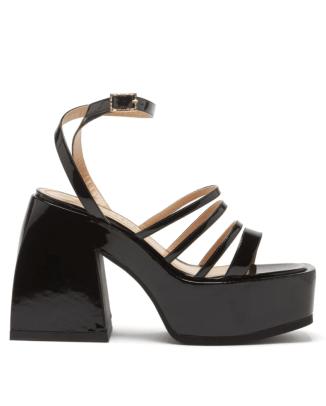 Nodaleto Bulla Chibi patent-leather platform sandals Matches