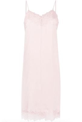 12 Storeez Floral Lace Slip Dress Farfetch